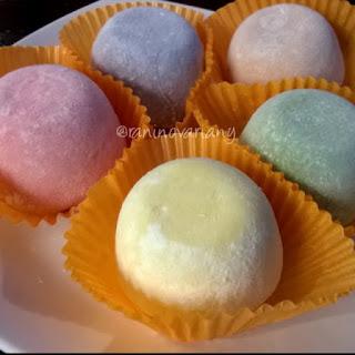 Mochi es krim dari MOCHILOK Bandung