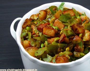 Potato Beans Ki Sabzi