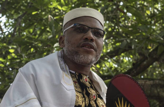 NNAMDI KANU: IPOB COURAGEOUS LEADER.