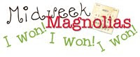 I won at Mid-week Mags!!!