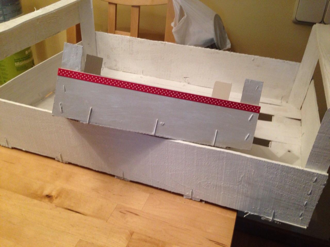 Manualidades manualidades decorar cajas de madera - Manualidades con caja de madera ...