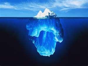 mente humana iceberg