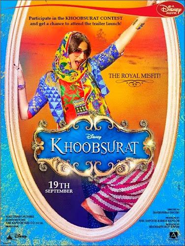 Khoobsurat (2014) Movie Poster No. 4