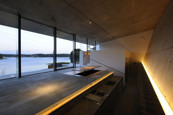 Japan Beach House Design: Contemporary Concrete | luxury house ...