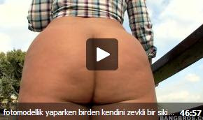 fotomodellik yaparken birden kendini zevkli bir türk porno içinde buldu