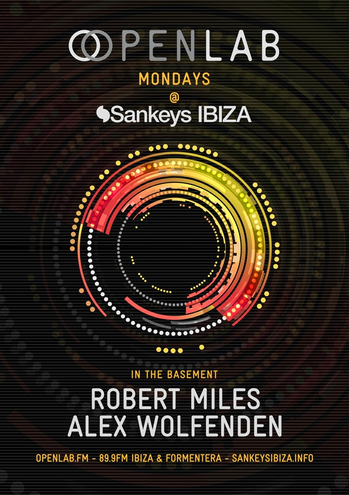 OpenLab Mondays the Basement - Sankeys Ibiza
