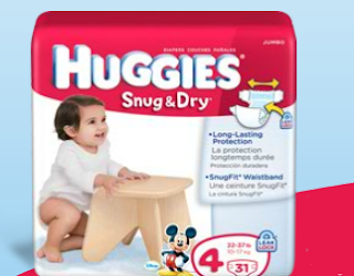 Free Huggies Snug and Dry Diapers