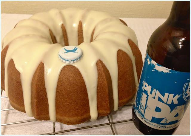 Punk IPA Bundt Cake