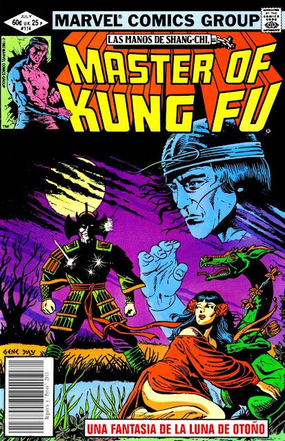 Portada de Master of Kung Fu Nº 114 traducido