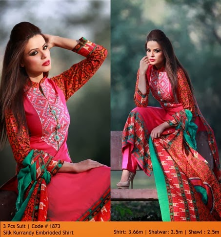WardaPrintsFall WinterCollection2014 2015VOL2 wwwfashionhuntworldblogspotcom 004 - Winter Collection 2014  By Warda Prints vol  2