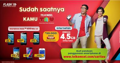 Paket Internet Telkomsel TAU Untuk Android