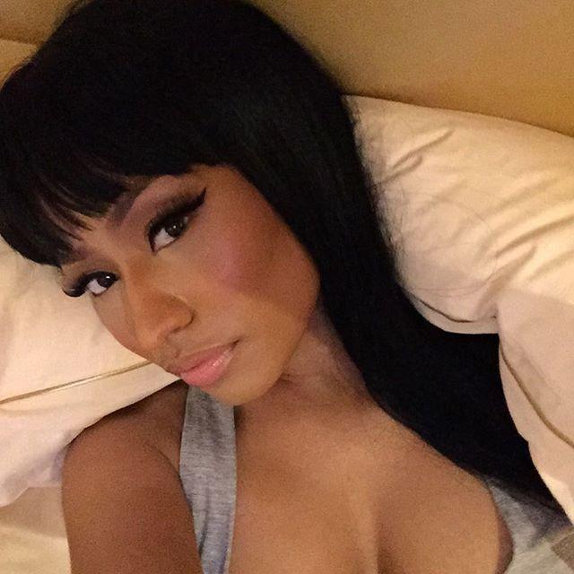 Nicki Minaj Won't Stop Flaunting Her Massive Cleavage
