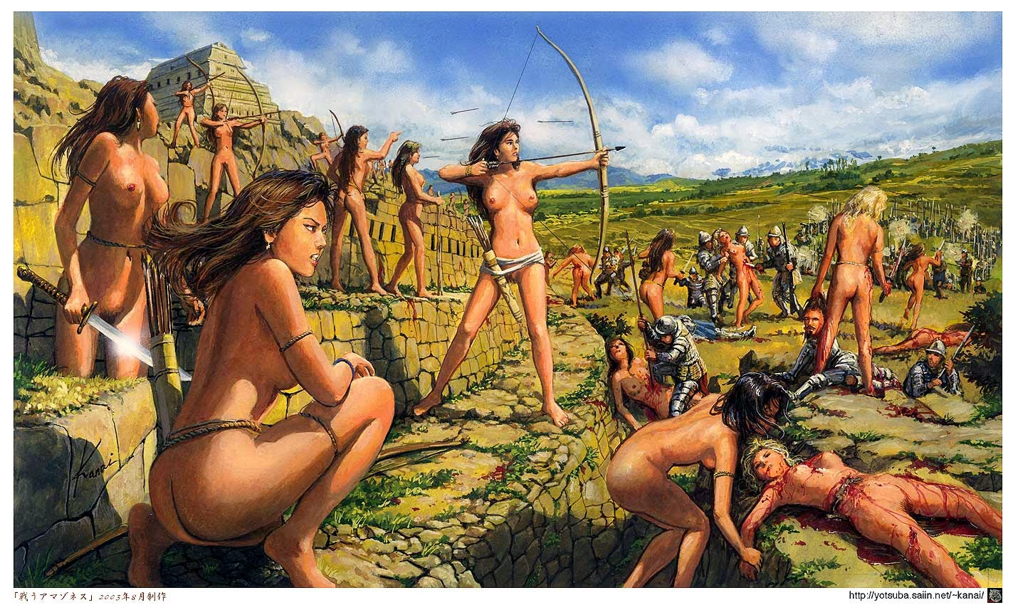 Images of naked amazonian women anime pictures