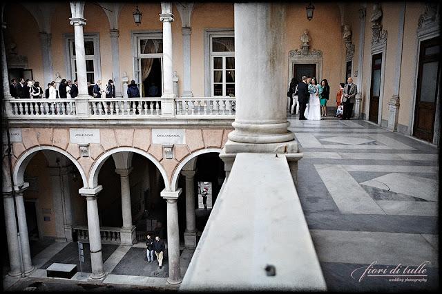 foto matrimonio Palazzo Tursi Genova
