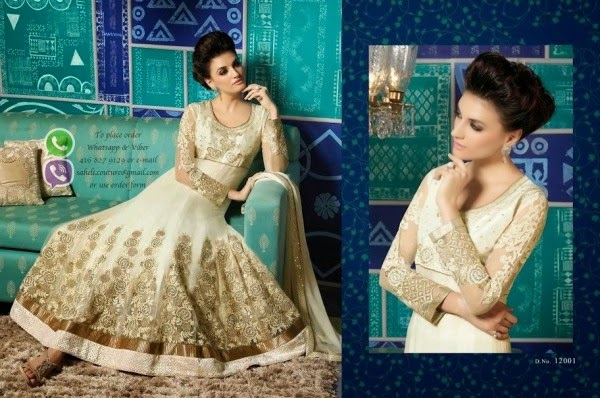Saheli Couture Latest Frocks 2014