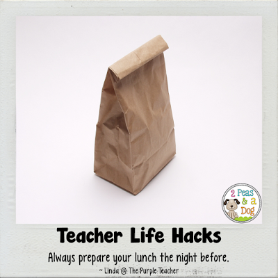 A blog post series sharing ideas to make teacher's lives more organized to help them maximize their personal life