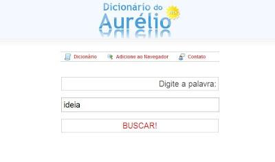 dicionário aurélio