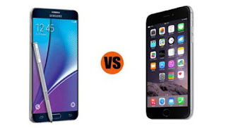 Samsung Galaxy Note 5 vs. iPhone 6 Plus
