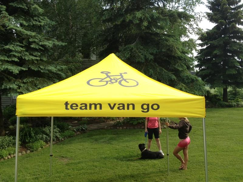 We now are starting to look like a professional team or somethingu2026 look for the team van go tent coming out at the following eventsu2026 & Team Van Go u2013 Team Van Go u2013 New Addition Unveiling