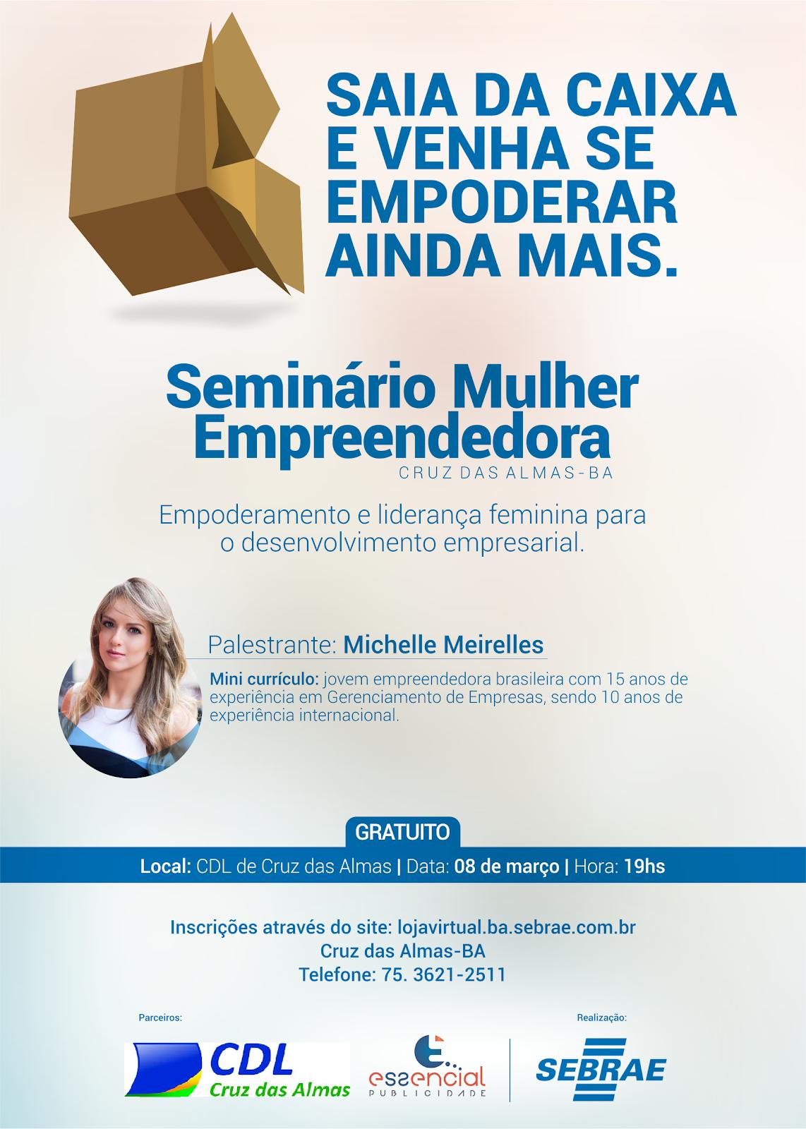 Seminário mulher empreendedora