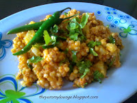 Sabudana Khichdi Tapioca Recipe for fast