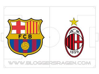 Prediksi Pertandingan Barcelona vs AC Milan