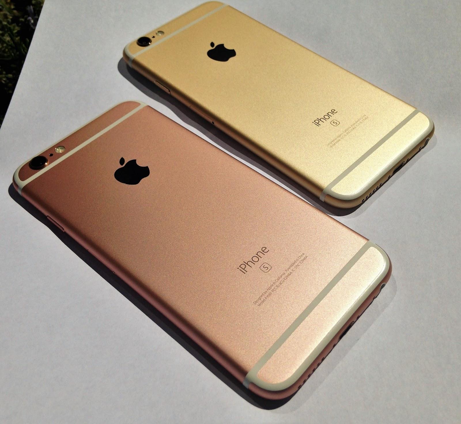 pedram pourmand iphone 6s gold vs rose gold. Black Bedroom Furniture Sets. Home Design Ideas