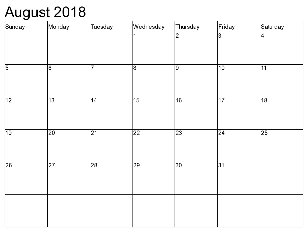 2018 2018 calendar