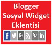 Blogger Hareketli Sosyal Widget Eklenti Kodları