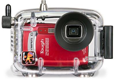 camera housing, underwater digital camera