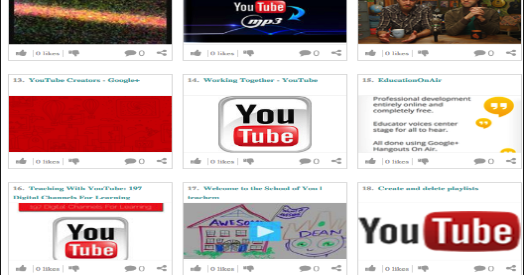 Fantastic Resources for Teaching Using YouTube