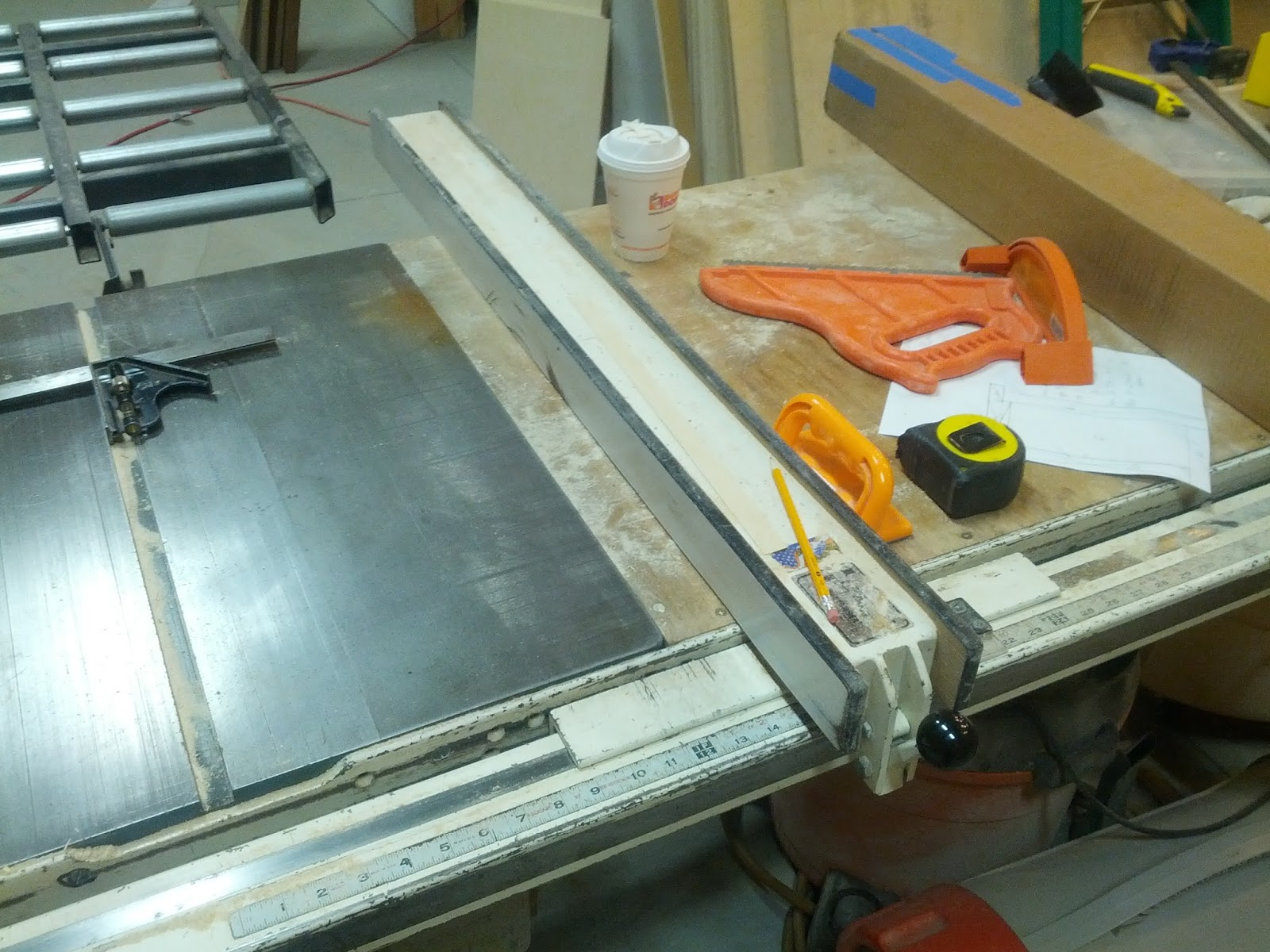 The penultimate woodshop this fence is verysupercool Table saw fence reviews