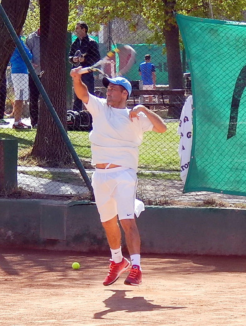 "ITF SENIORS G ""A"" COPA TRULLENQUE -CHILE - GARGIULO Y SILEONI EN SINGLES"