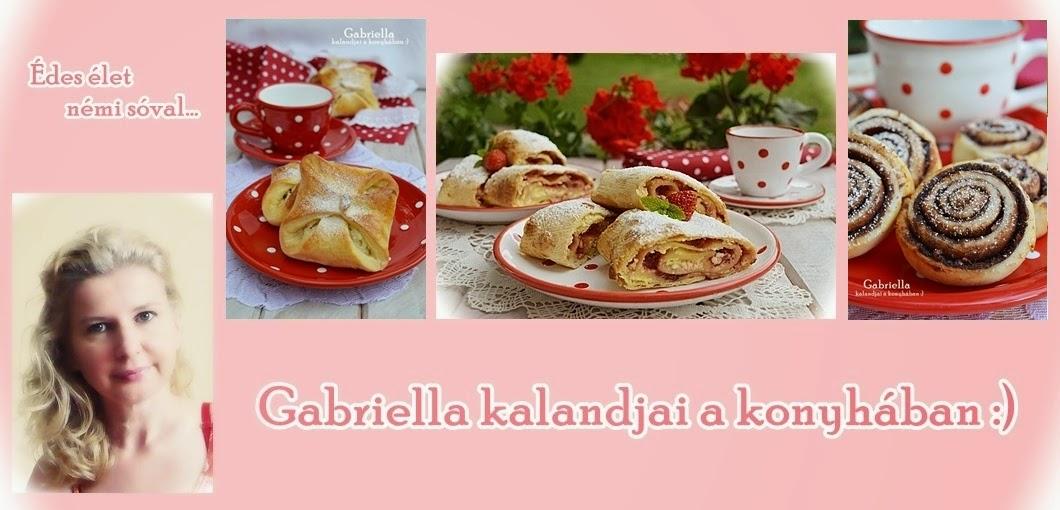 Gabriella kalandjai a konyhában :)