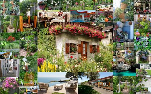 40 ideas sobre decoración exterior en jardines con flores
