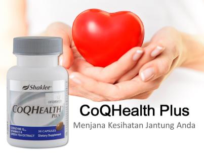 CoQ10 Health Plus Shaklee Menjana Kesihatan Jantung Anda