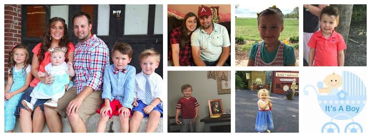 The little Duggar family blog