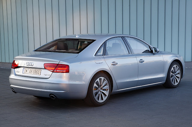 детали Audi A8 Hybrid 2012 года
