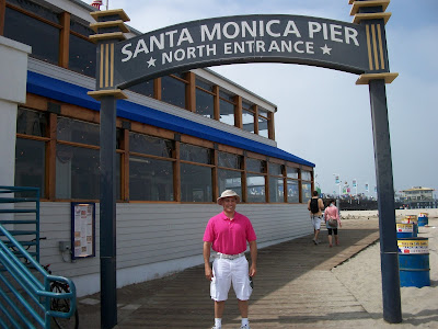 Here we are, at the Santa Monica Pier