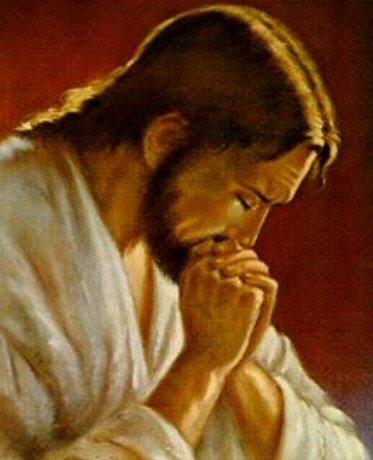 Resultado de imagem para Jesus em oração