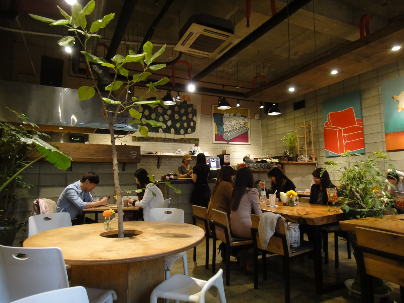 Jon Pang S Korean Adventure Thanks Nature Cafe A Sheep Cafe