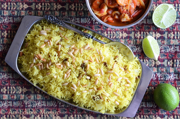 Foodiva's Kitchen: Saffron Rice with Golden Raisins and ...