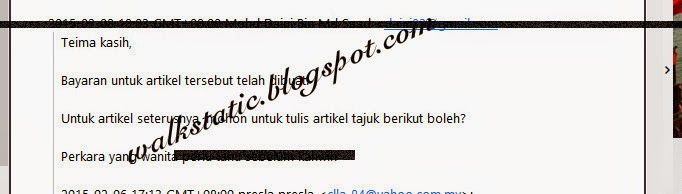 Penulis Artikel Malaysia