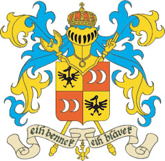 The Syldavian Royal Arms as drawn by Hergé
