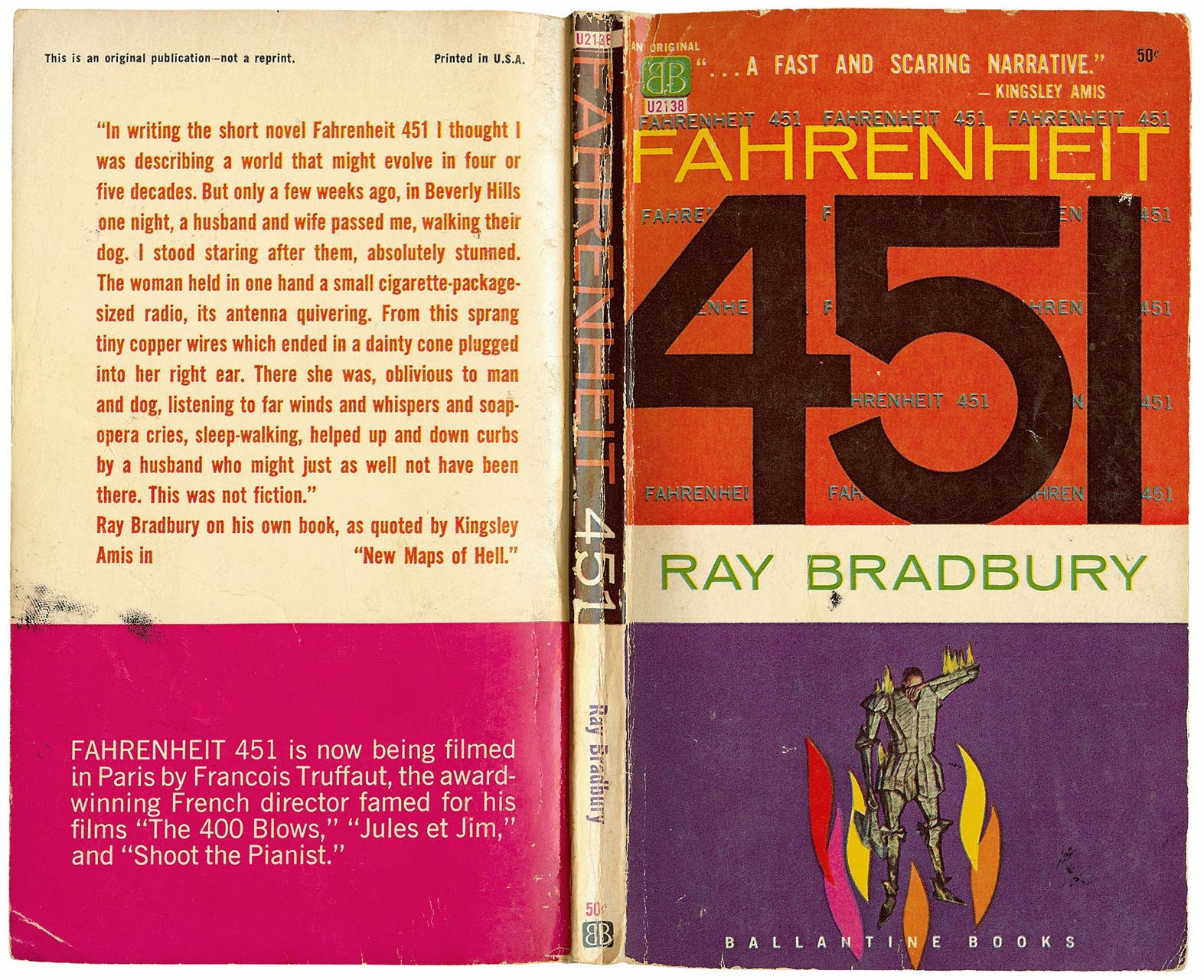 essay on fahrenheit 451 by ray bradbury
