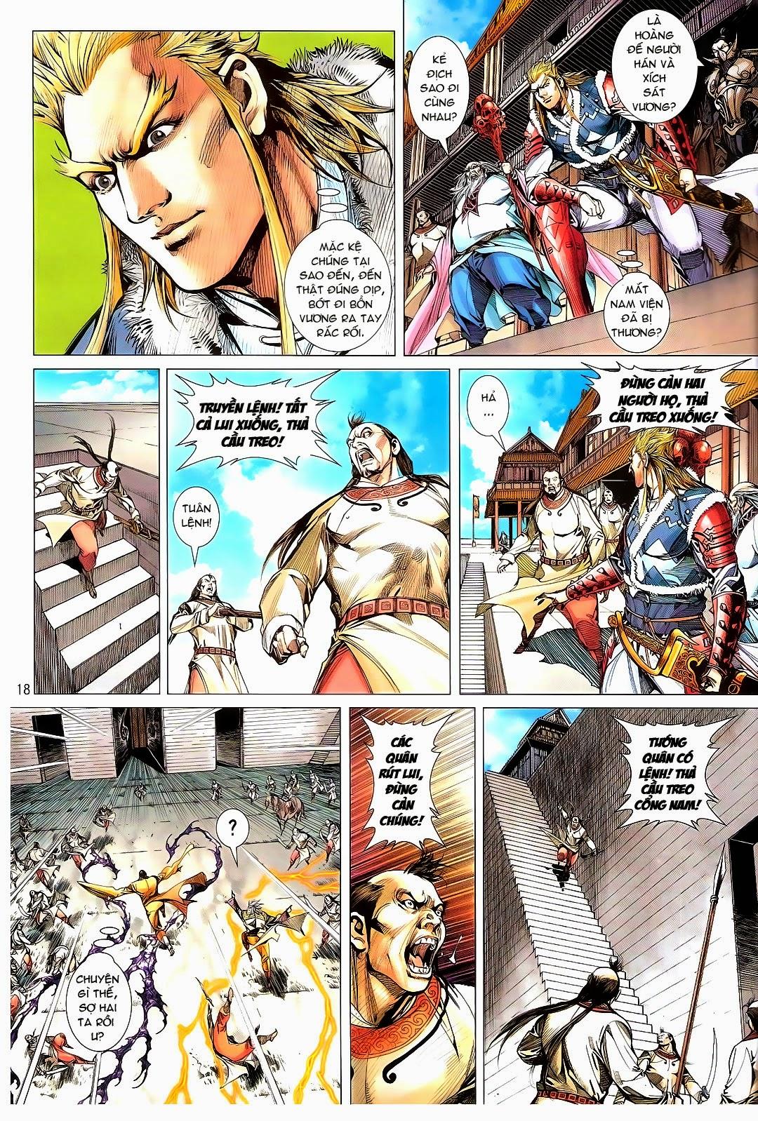 tuoithodudoi.com Thiết Tướng Tung Hoành Chapter 110 - 18.jpg