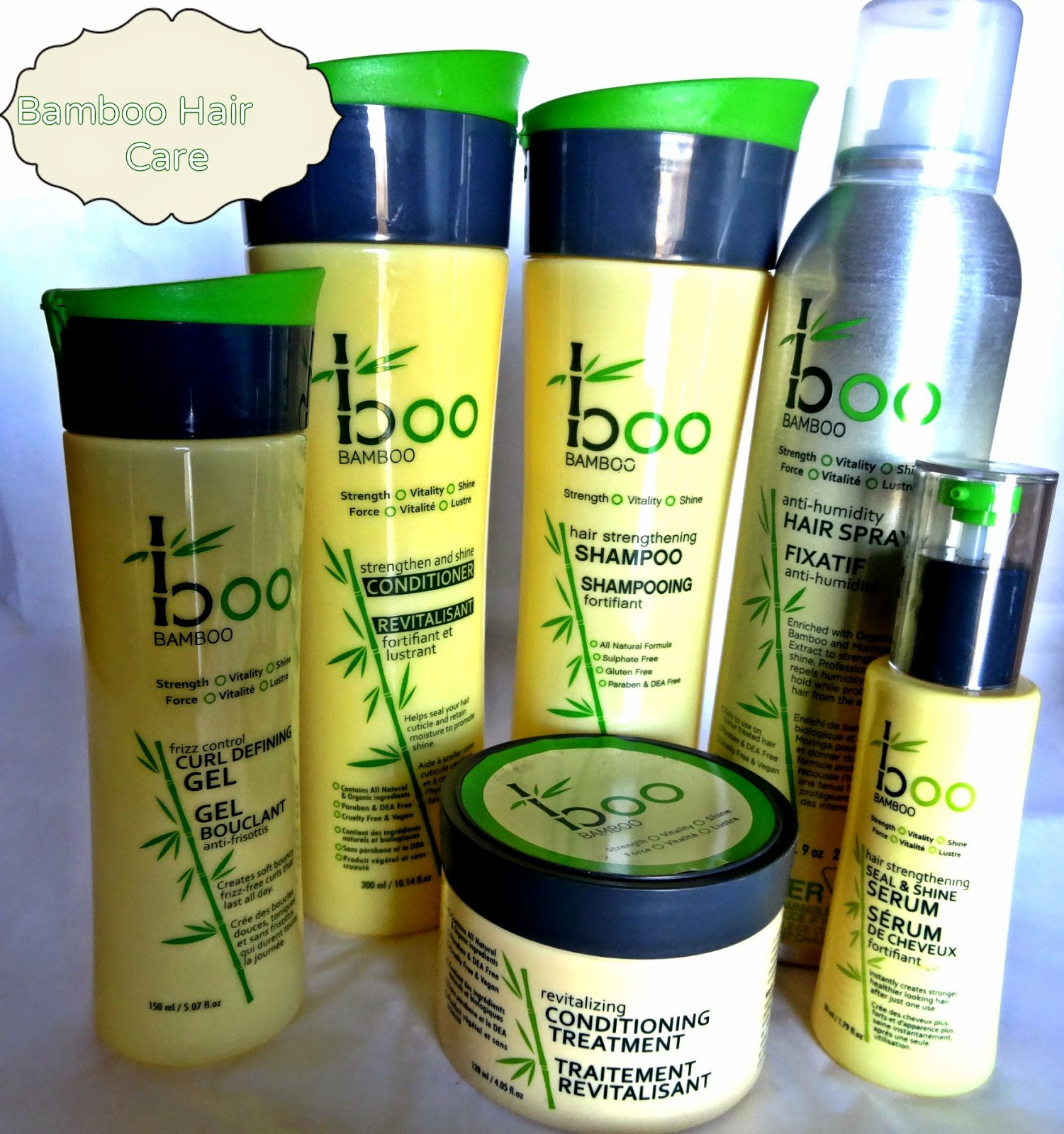 A picture of  Boo Bamboo Hair Care Line