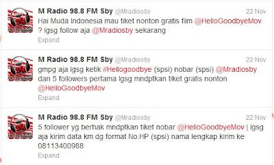 twitter mradio surabaya
