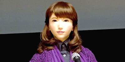 Erica, Robot Android Yang Makin Mirip Dengan Manusia