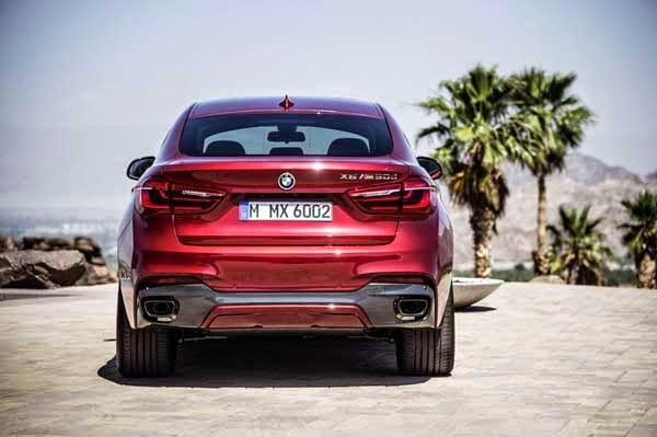 New 2015 BMW X6 M50d Concept